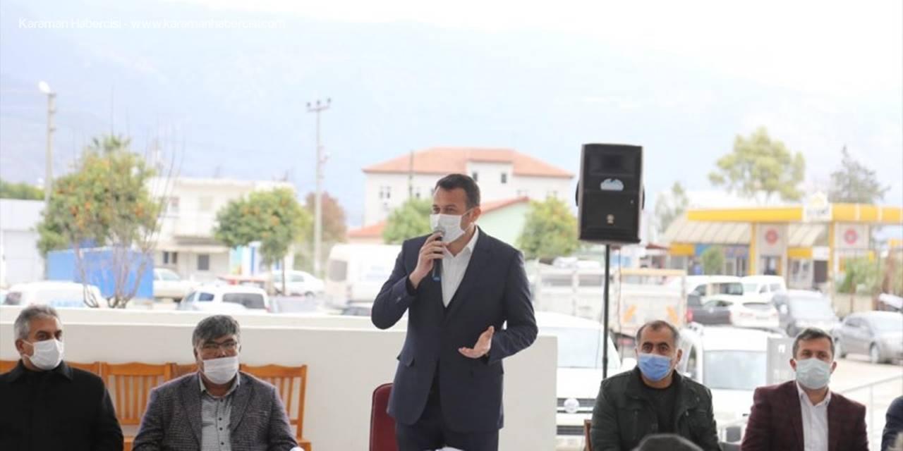 Kaş Belediye Başkanı Mutlu Ulutaş Esnafla Bir Araya Geldi