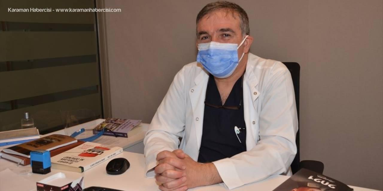 Antalya'da Korona Virüse Yakalan Adam Yoğum Bakımda Çocuğu İçin Yaşama Tutundu
