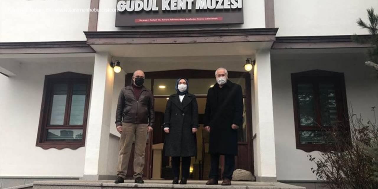 Kaymakam İncesu Ve Belediye Başkanı Muzaffer Yalçın, Güdül Kent Müzesini Gezdi