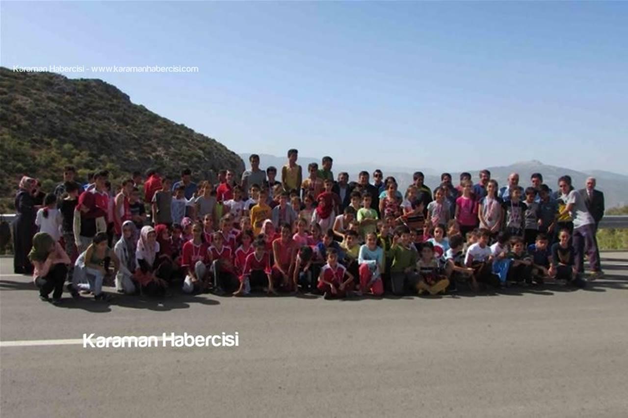 Ermenek'te Amatör Spor Haftası İçin Koştular