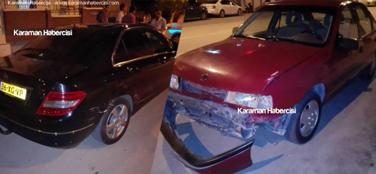 Karaman'da Trafik Kazalarında 15 Yaralı