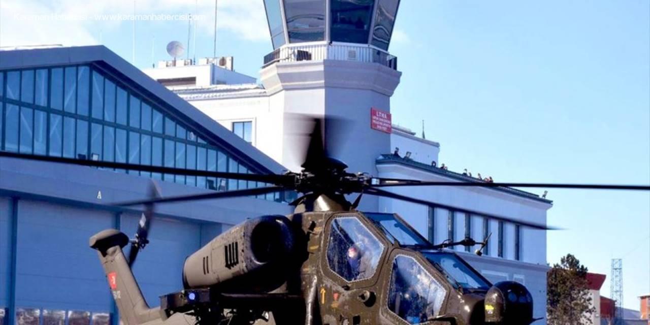 Emniyet Genel Müdürlüğüne İlk Atak Helikopteri Teslim Edildi