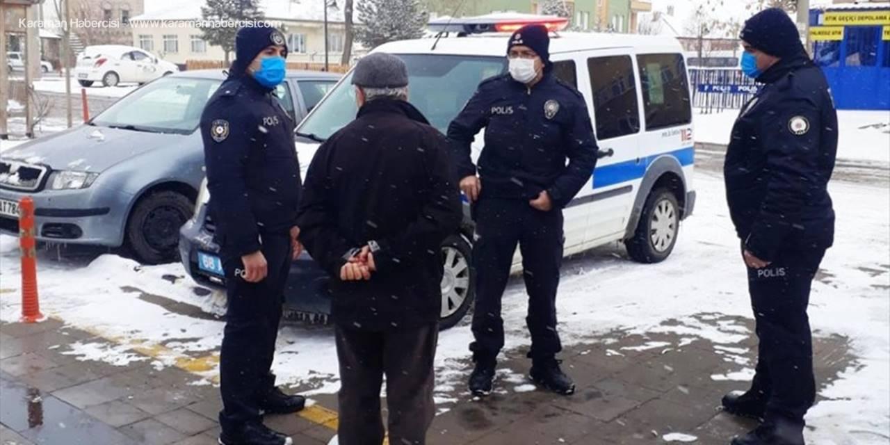 Aksaray'da Polisin Dikkati 40bin Avroyu Kurtardı