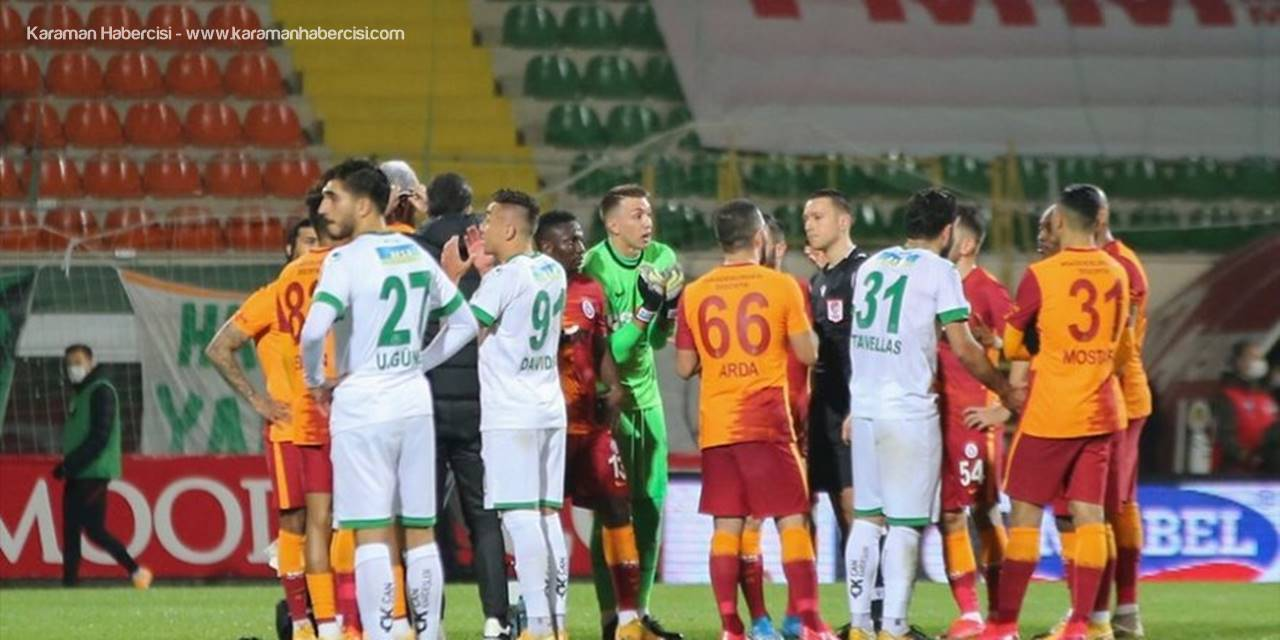 Aytemiz Alanyaspor - Galatasaray Maçında Son Durum