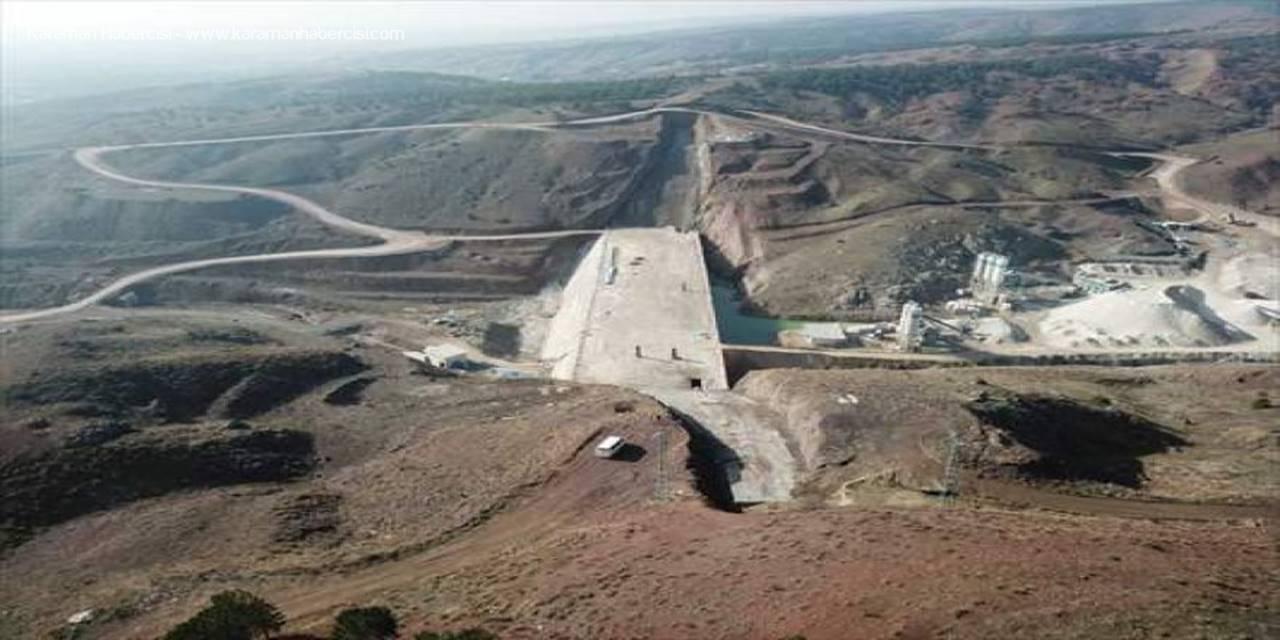 Eskişehir Gündüzler Barajı'nda Çalışmalar Devam Ediyor