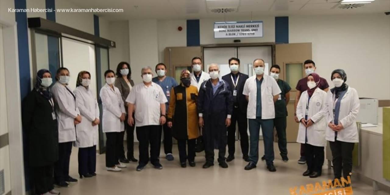 Kayseri Şehir Hastanesi'nde ilk kemik iliği nakli yapıldı