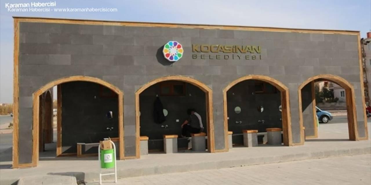 Kocasinan'da Selçuklu Mimarisi, Şadırvanlara İşleniyor