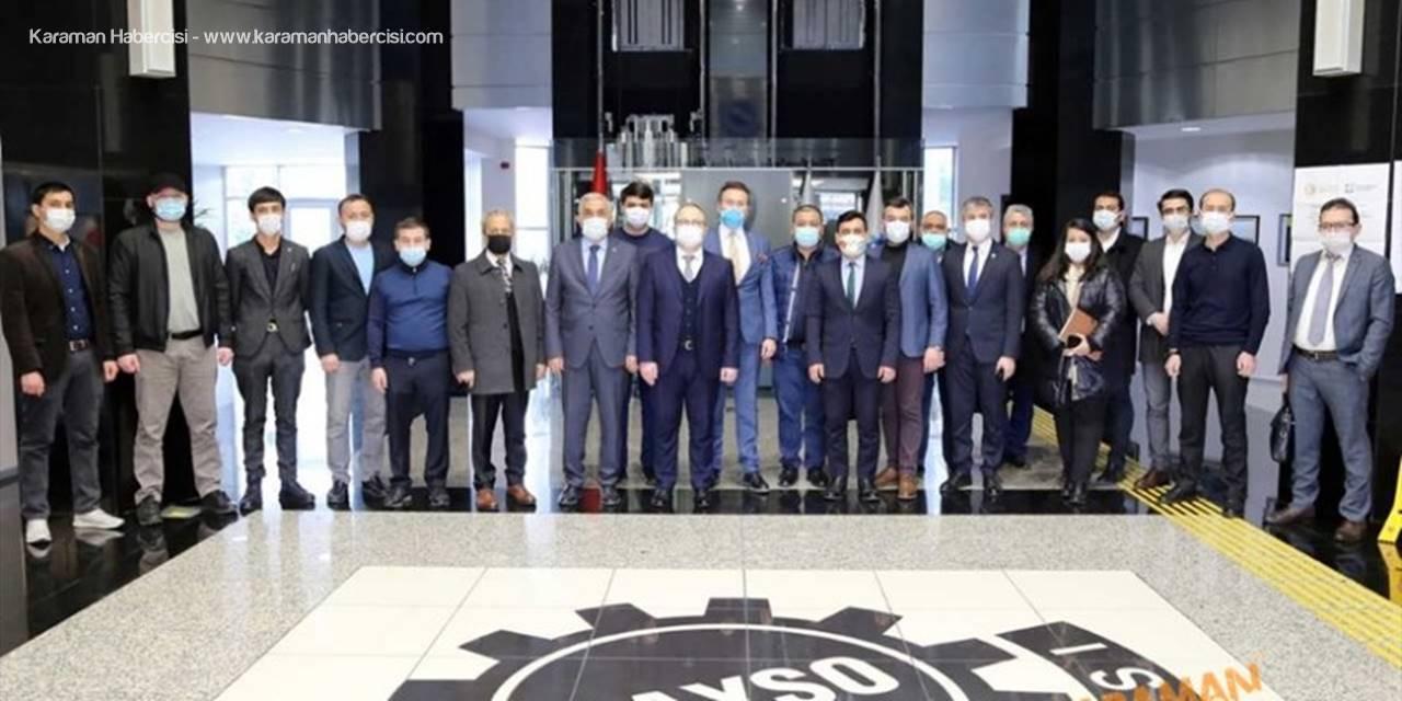 Kayseri'den Geçen Yıl Özbekistan'a 15 Milyon Dolarlık İhracat Yapıldı