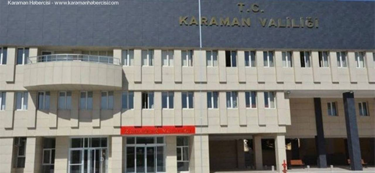Karaman'a 2 Yeni Vali Yardımcısı Atandı