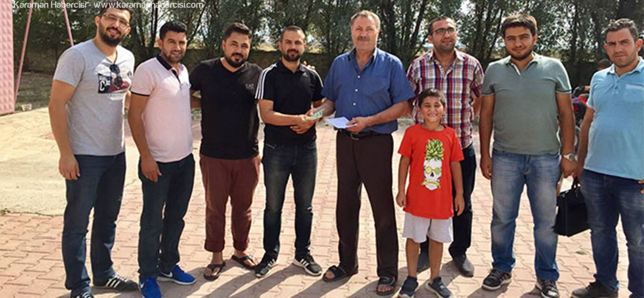 Ortaoba Spor Kulübü, Ortaoba Köyü'nü Ziyaret Etti