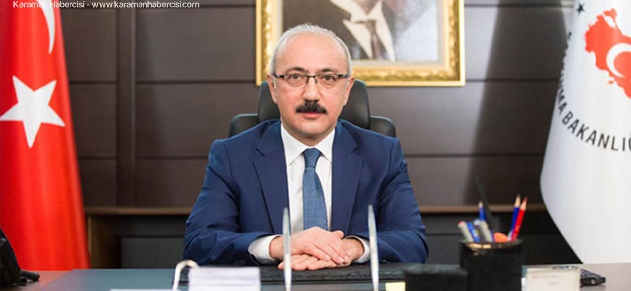 Kalkınma Bakanı Lütfi Elvan Ermenek'te