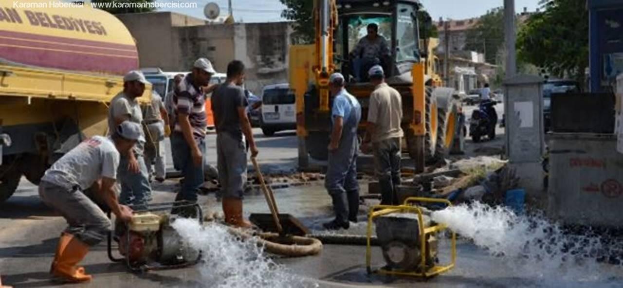 İşte Karaman'da Su Kesintisi Yaşayacak Mahalleler