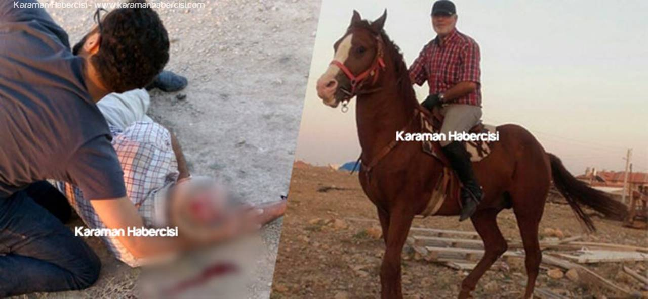 Şaha Kalkan At, Ahmet Hıdır'ı Düşürdü