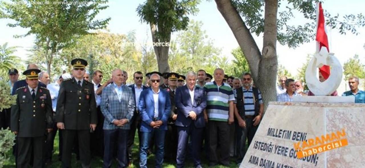 Karaman'da Şehit Polis ve Askerler Unutulmadı