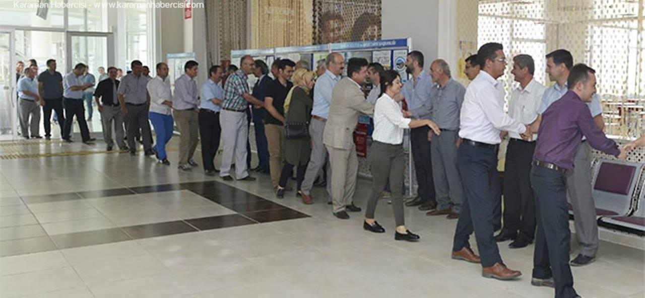 KMÜ'de Bayramlaşma Töreni Gerçekleştirildi