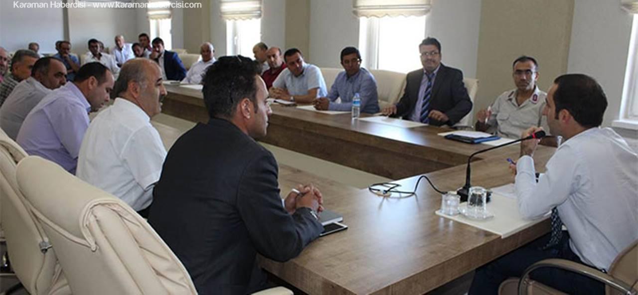 Kazımkarabekir'de 2017-2018 Eğitim Öğretim Yılı Hazırlık Toplantısı Yapıldı