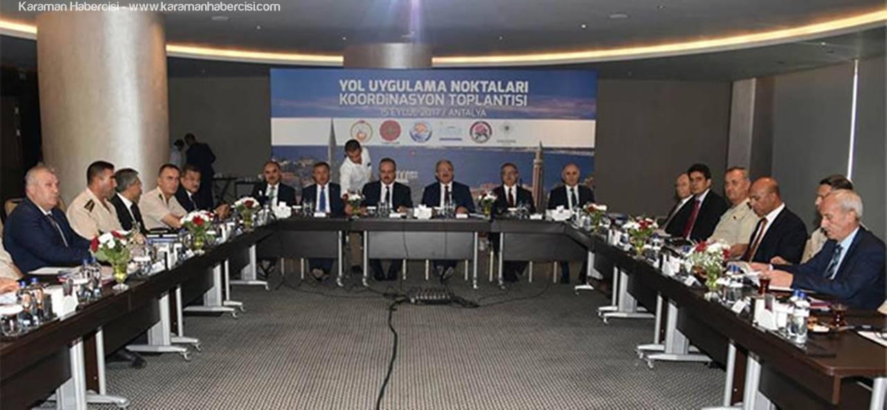 Yol Uygulama Noktaları Koordinasyon Toplantısı Yapıldı