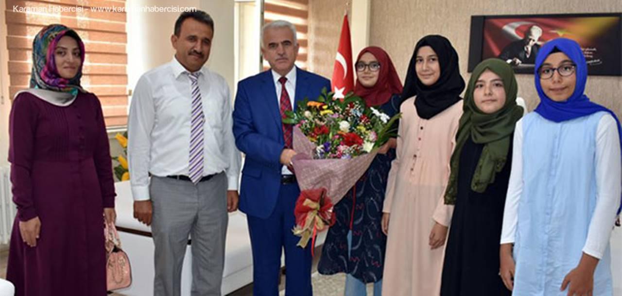 Karaman Cahit Zarifoğlu İHO'dan Kuntoğlu'na Ziyaret