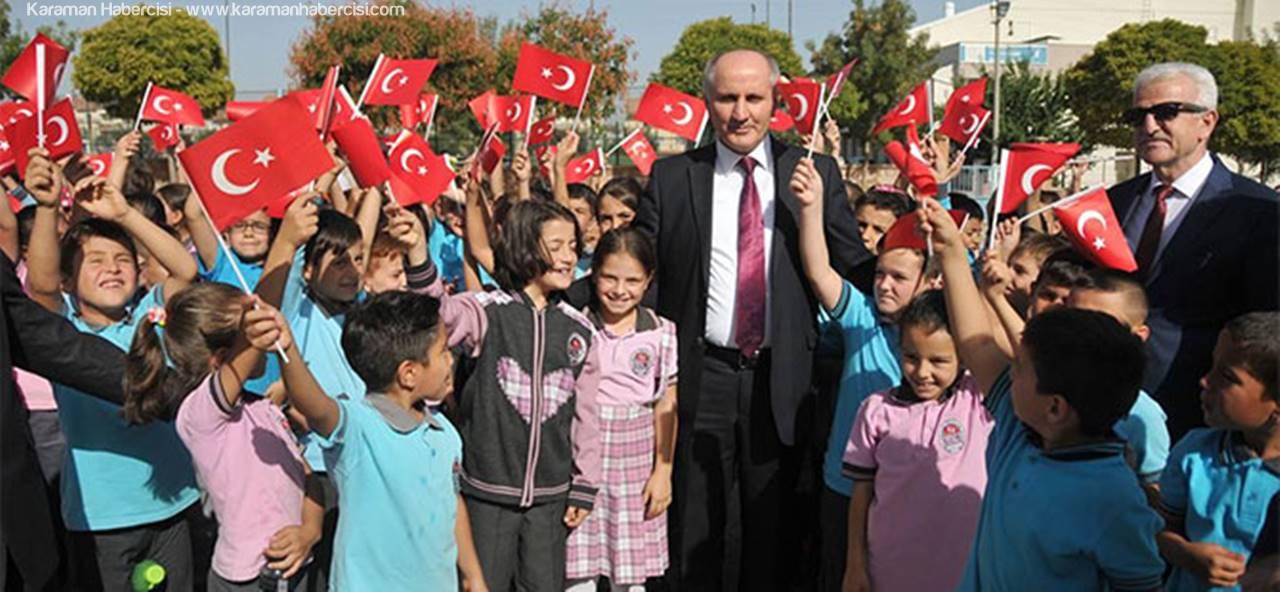 Karaman'da İlköğretim Haftası Kutlandı
