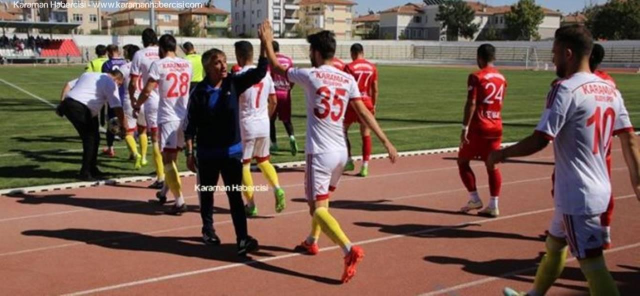 Karaman Belediyespor Lige 3 Puanla Başladı