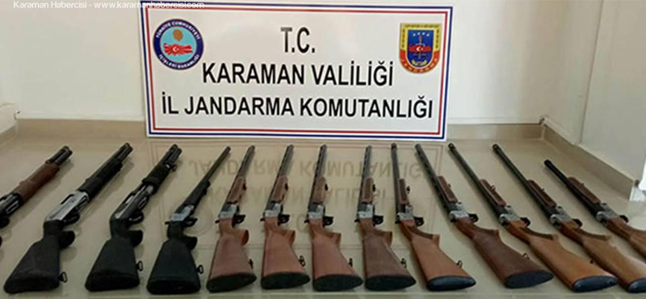Karaman'da Silah Kaçakçılığına Suçüstü