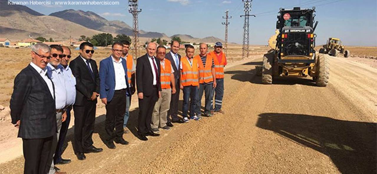 Demiryurt ve Yuvatepe Köylerinde Yol Çalışmaları Devam Ediyor