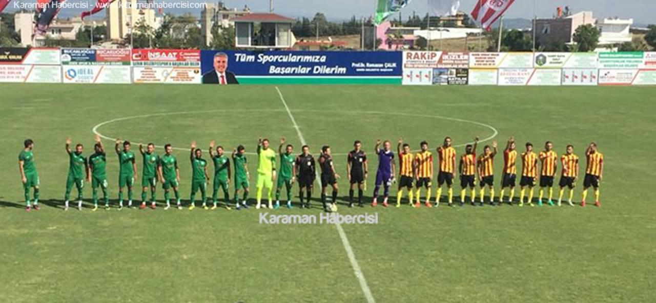 Karaman Belediyespor Deplasmandan 1 Puanla Döndü