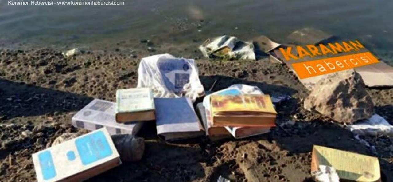 FETÖ Mensupları Kitaplarını, Buldukları İlk Yere Atmaya Çalışıyorlar!