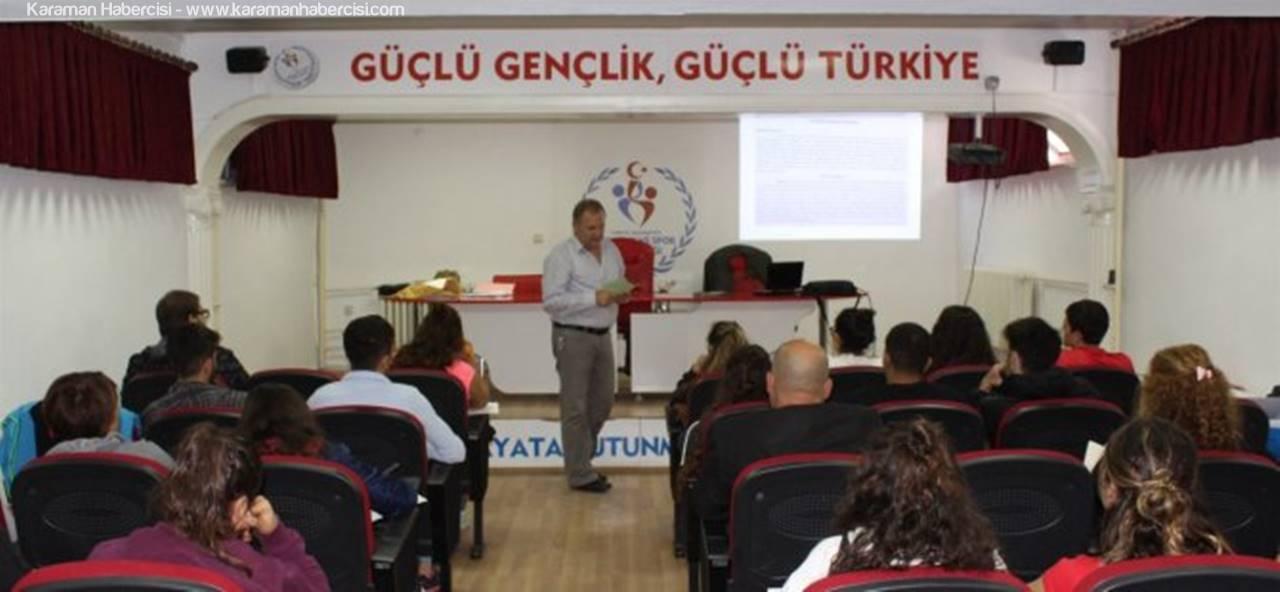 Karaman'da Sutopu 1.Kademe Antrenör Kursu Başladı