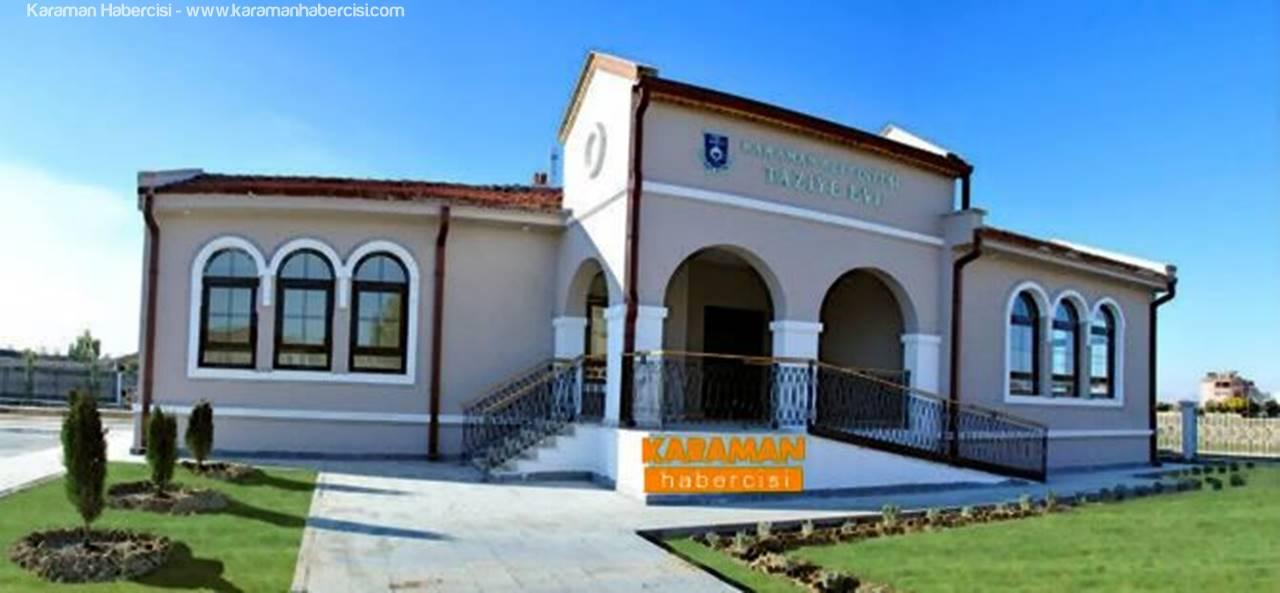 Karaman Belediyesi'nden Larende'ye Taziye Evi