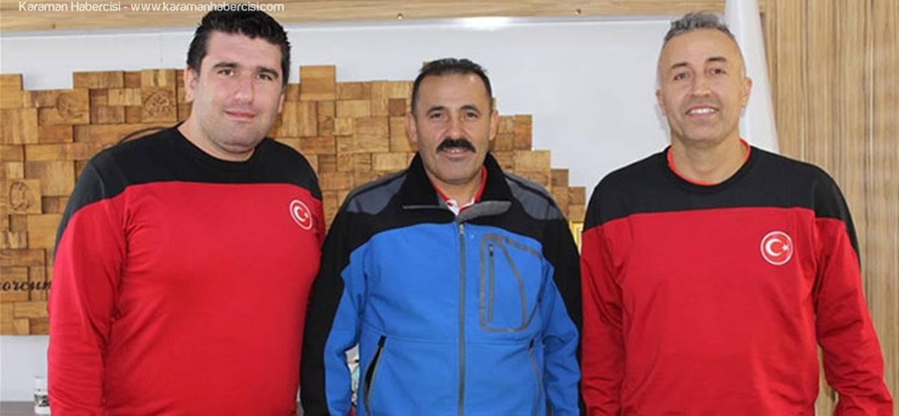 Takım Oyuncusu Metin Karaca İl Müdürünü Ziyaret Etti