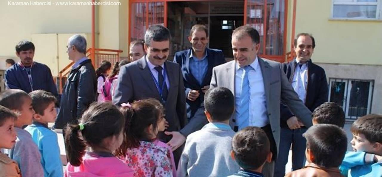 Sultanoğlu, Karamanoğlu Mehmet Bey İlkokulu Öğrencileri İle Bir Araya Geldi