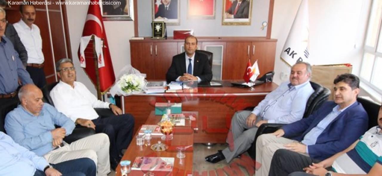 AK Parti Karaman İl Başkanı Mehmet Er Bayram Mesajı