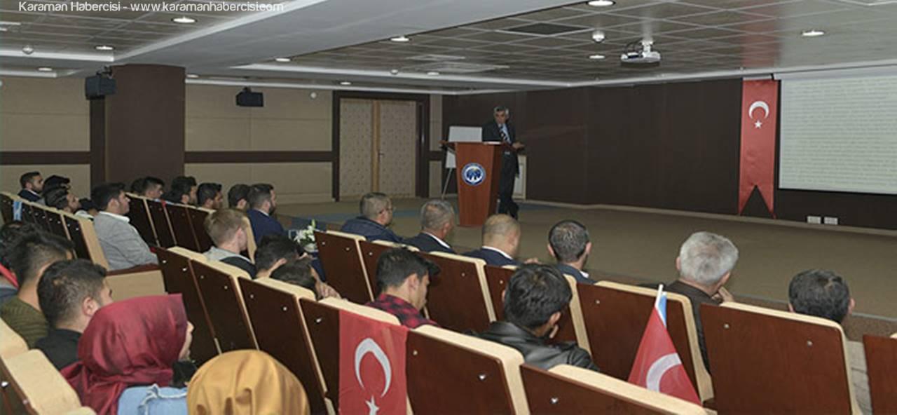 KMÜ'de Kerkük Konferansı