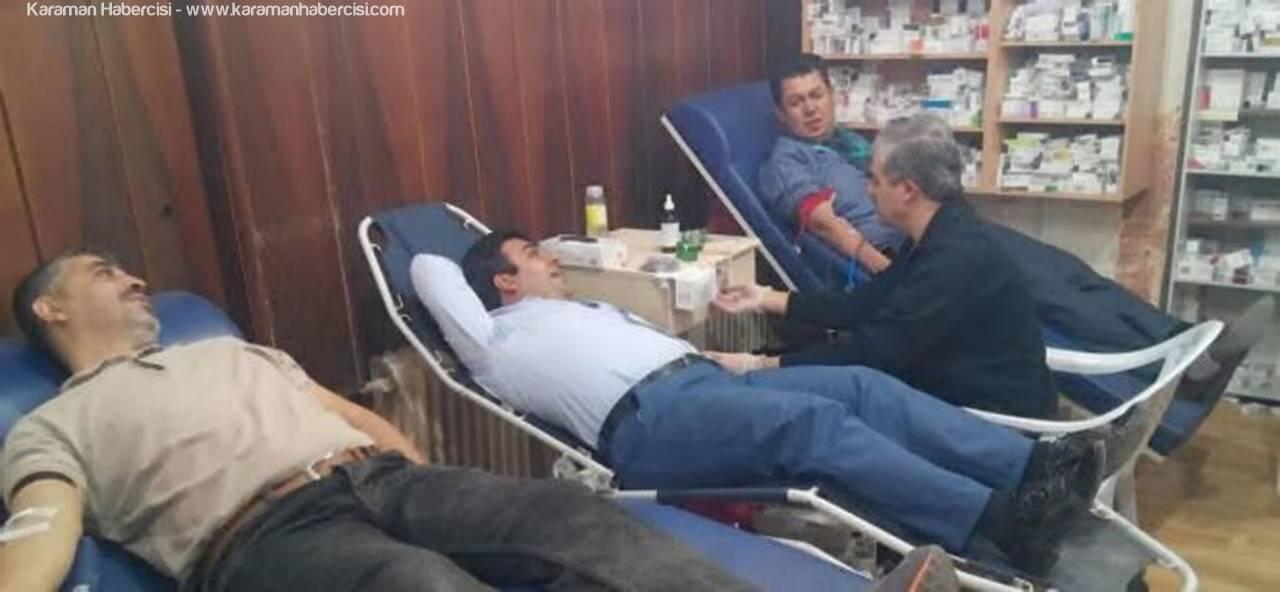 TAPDER Kan Bağışına Dikkat Çekti