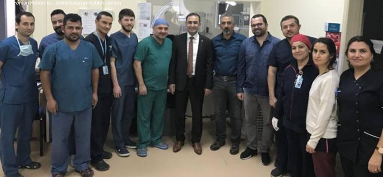 Karaman, Damar Hastalığı EVAR Tedavisinde Yüz Güldürecek