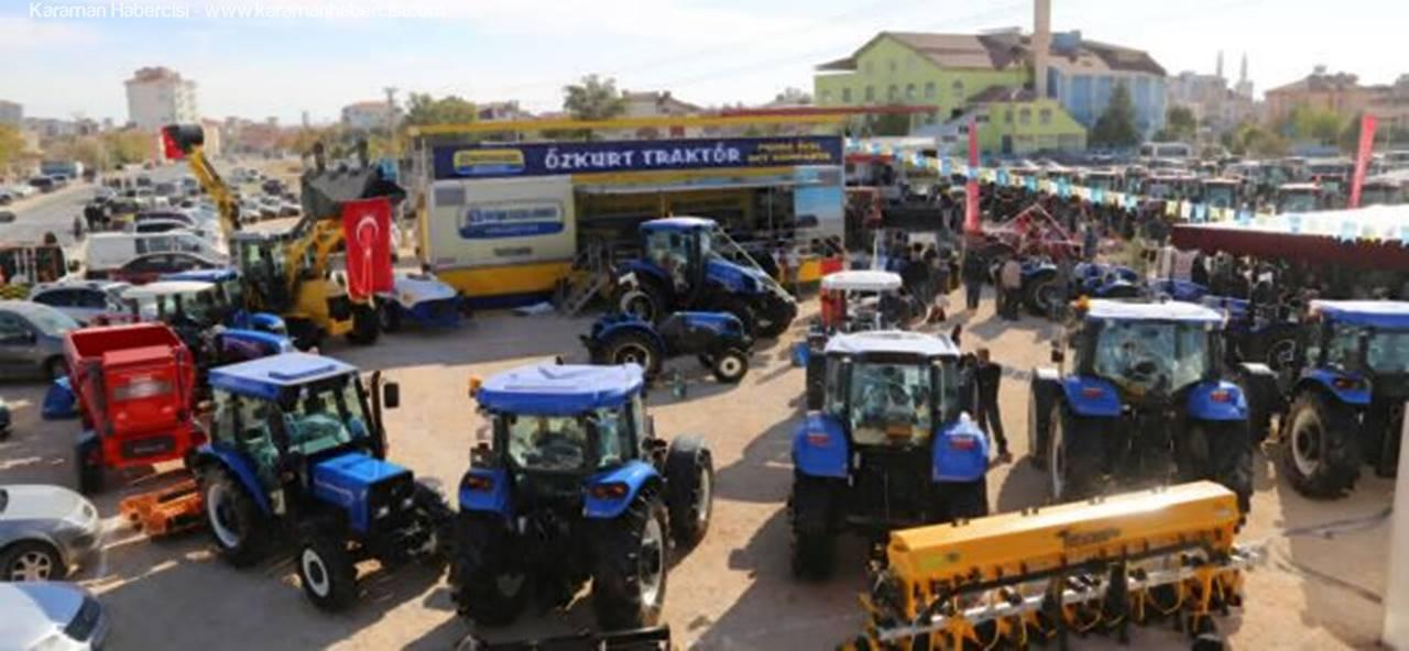 Özkurt Traktör Karaman Tarım Fuarında