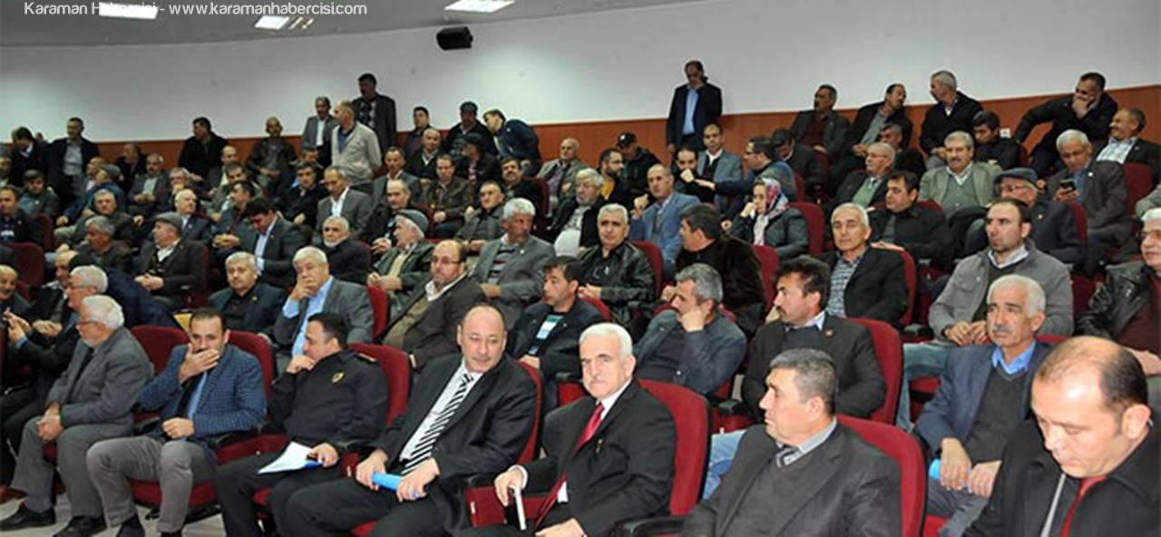 Aralık Ayı Muhtarlar Toplantısı Yapıldı