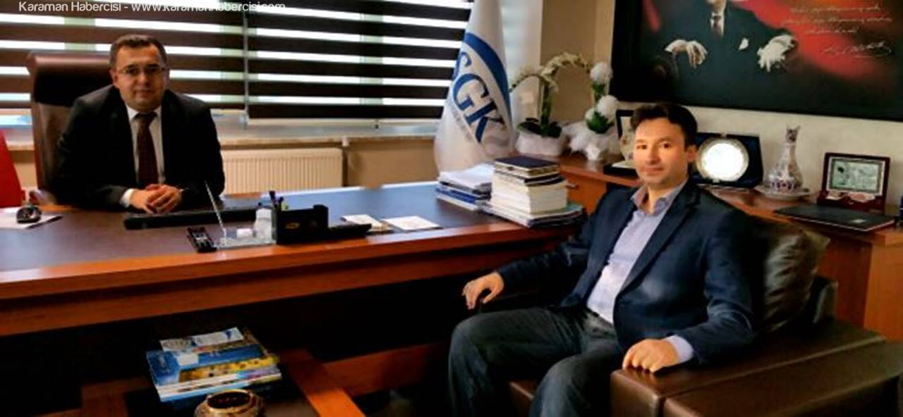 Karaman Habercisi'nden Serdar Fındık'a Hayırlı Olsun Ziyareti
