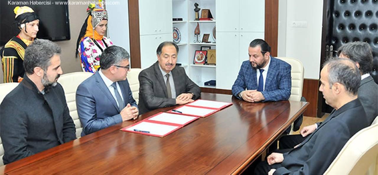 KMÜ Besyo ve Toki Anadolu Lisesi İşbirliği Protolü