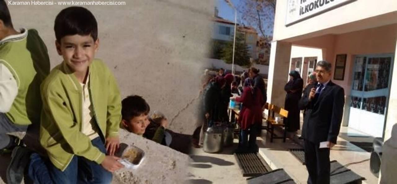 Hamza Anaç İlkokulu'nda Aşure Etkinliği Düzenlendi