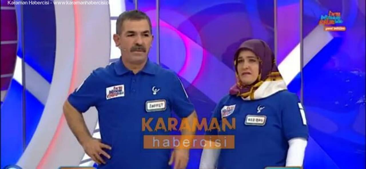 Ben Bilmem Eşim Bilir'de Karamanlı Aile Arabayı Kazandı