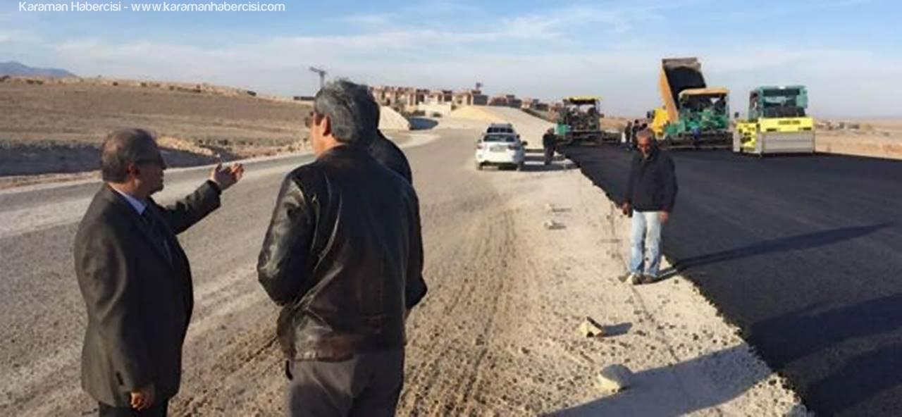 Vali Süleyman Tapsız'dan Çevre Yolu İncelemesi