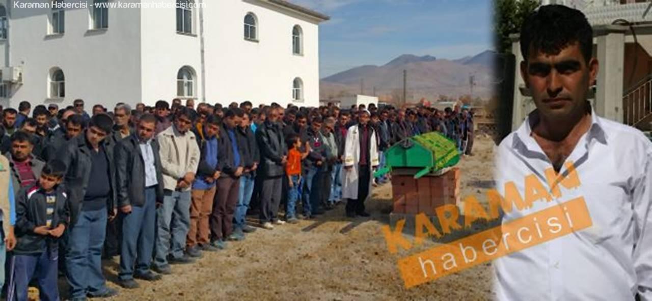 Karaman'da Kazada Vefat Eden Nazım Çiçek İslihisar'da Defnedildi