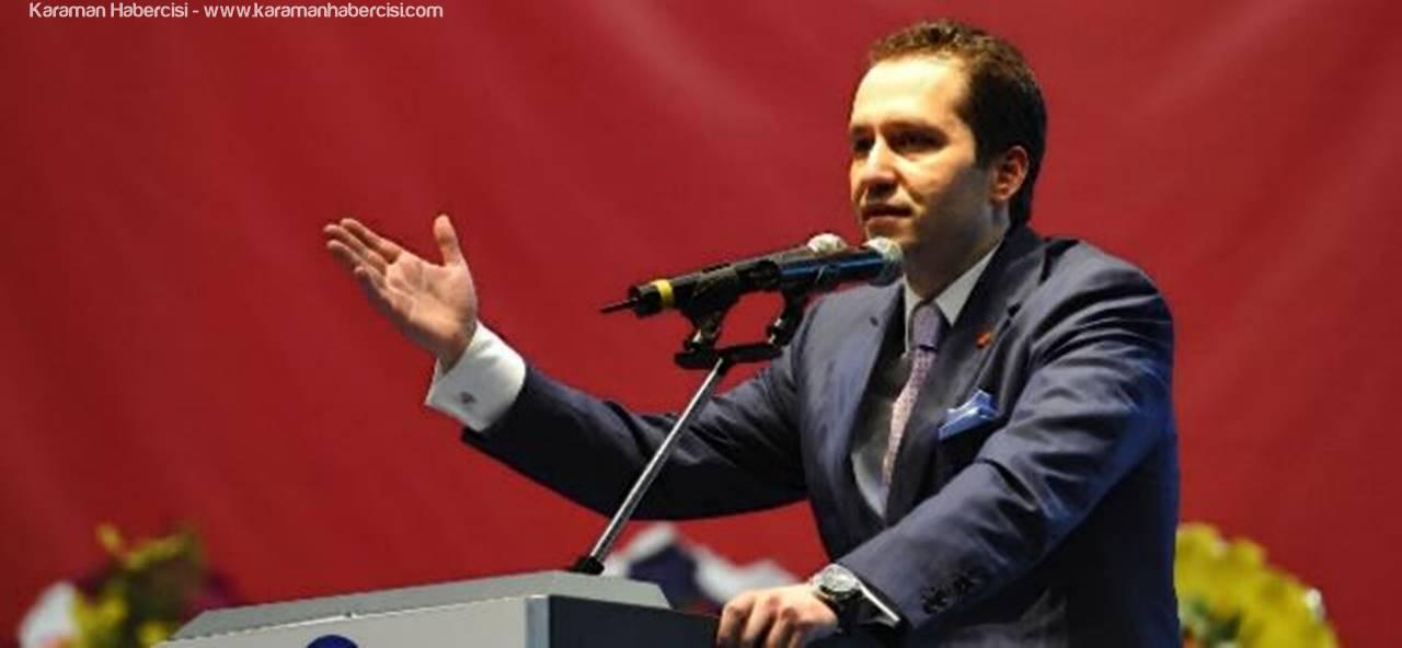 Fatih Erbakan'ın Karaman Programı
