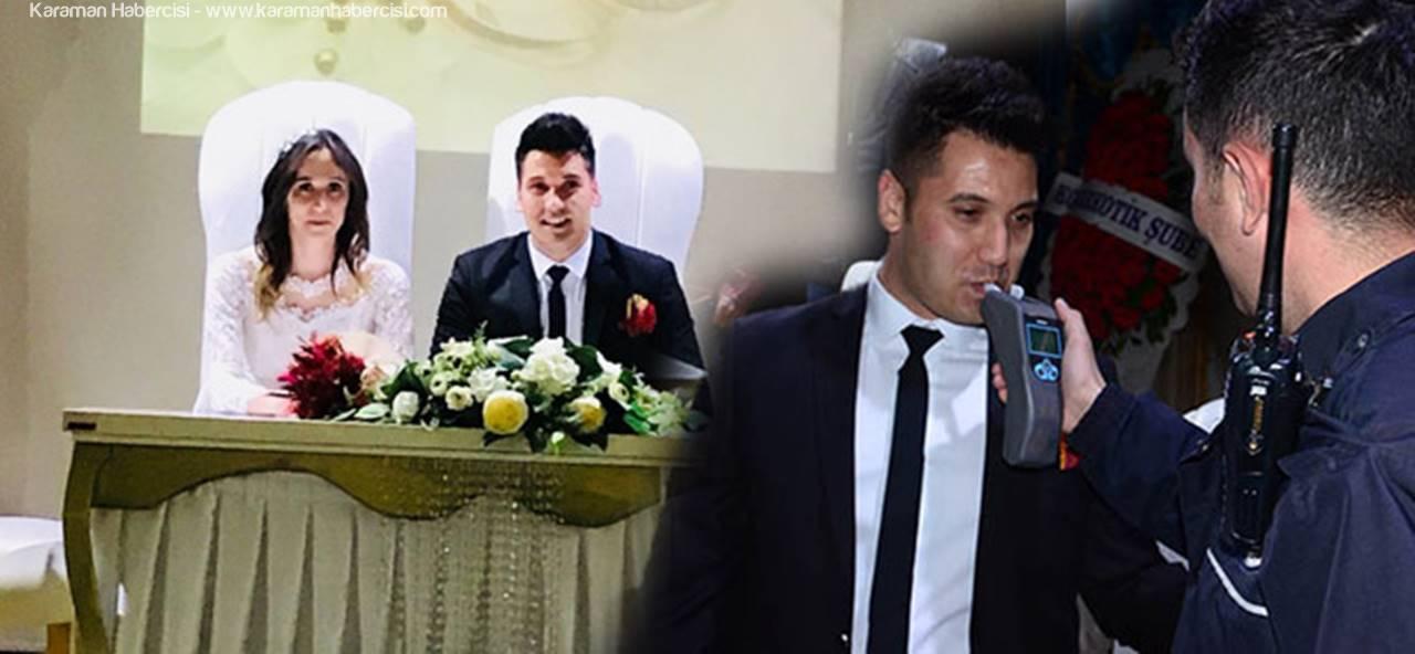 Trafik Polisine Nikahında Alkol Muayenesi