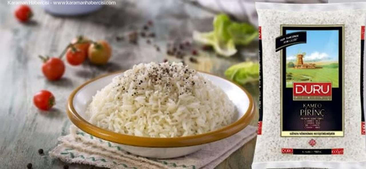 Duru Kameo Pirinç İle Kıvam Tutturmak Daha Kolay