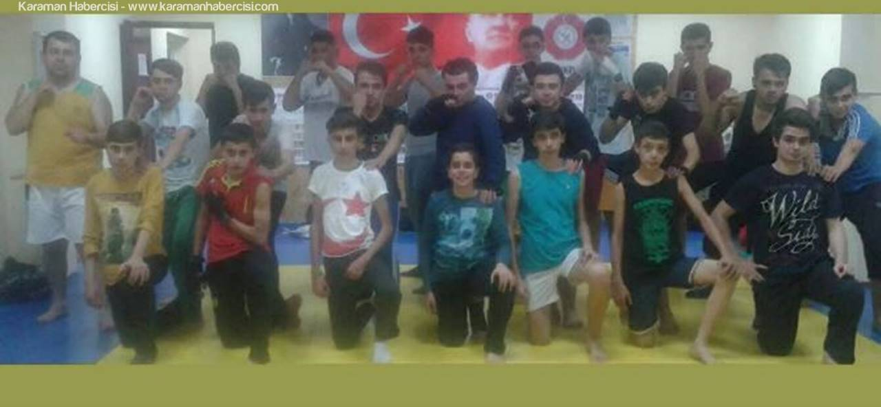 Karamanlı Gençler Muay Thai&Kickboks'u Seviyor