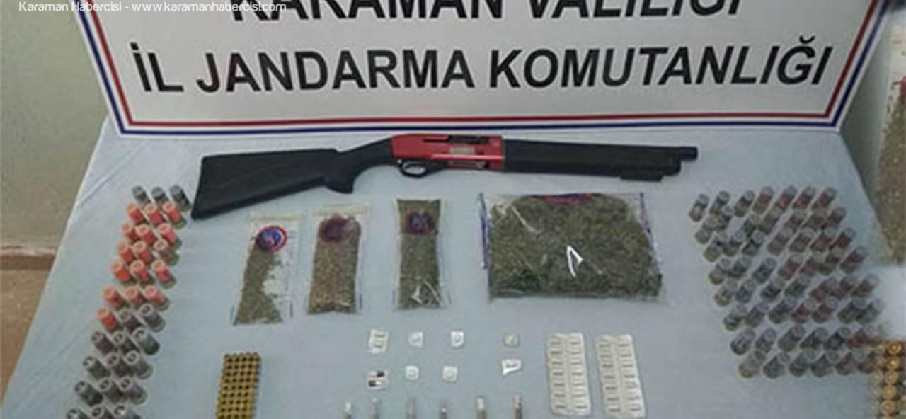 Karaman'da Uyuşturucuya Bir Darbe Daha