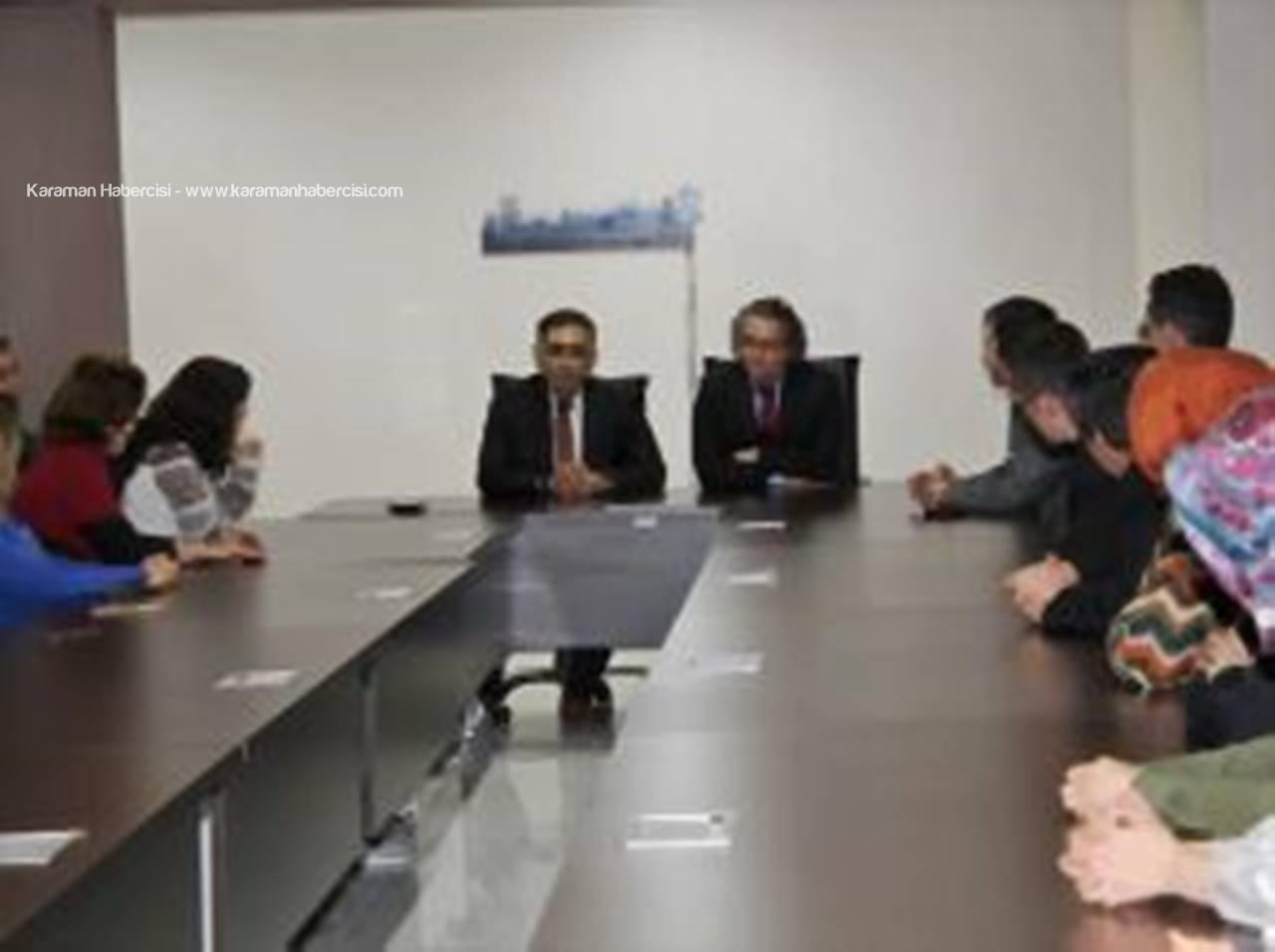 Karaman Kamu Hastaneler Birliği Genel Sekreterliği'ne atanan Hasan Arslan, göreve başladı.